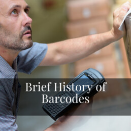 Brief History of Barcodes