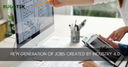 New generetion of jobs created by industry 4.0.